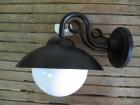 Fenjer - zidna lampa 37P crna