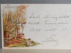 Ferenczi Jőzsef király koronázása -1898.LITOGRAFIJA
