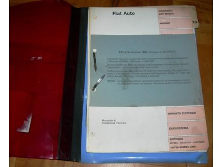 Fiat Regata - generalije, uputstvo za servisiranje