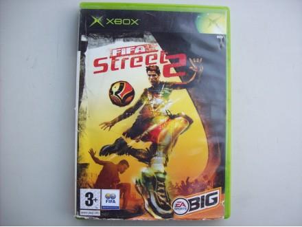 Fifa Street 2  Xbox kutija za disk