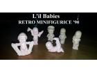 Figurice beba - L`il Babies Hasbro 1990 RARITET