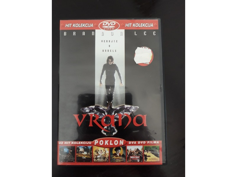 Film DVD VRANA original