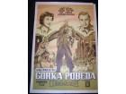 Filmski poster GORKA POBEDA Richard Burton 1957