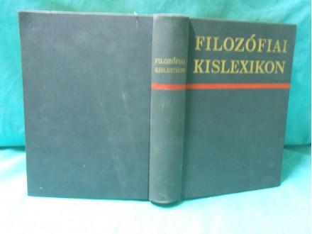 Filozófiai kislexikon M. Rozental - P.Jugyin