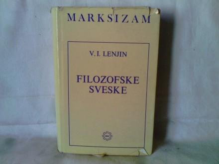 Filozofske sveske - Vladimir Iljič Lenjin