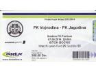 Finale kupa 2014.god. , Vojvodina - Jagodina 2:0