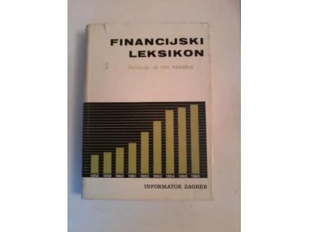 Financijski leksikon, Ivo Perišin