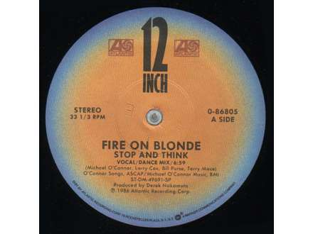 Fire On Blonde - Stop And Think