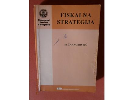 Fiskalna strategija, Zarko Ristic