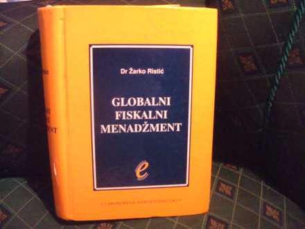 Fiskalni menadžment, Žarko Ristić