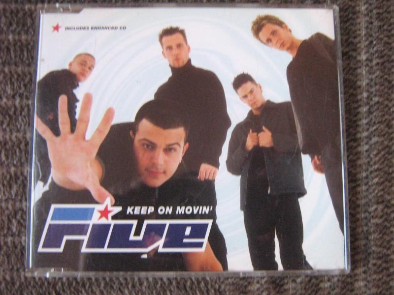 Five - Keep On Movin`