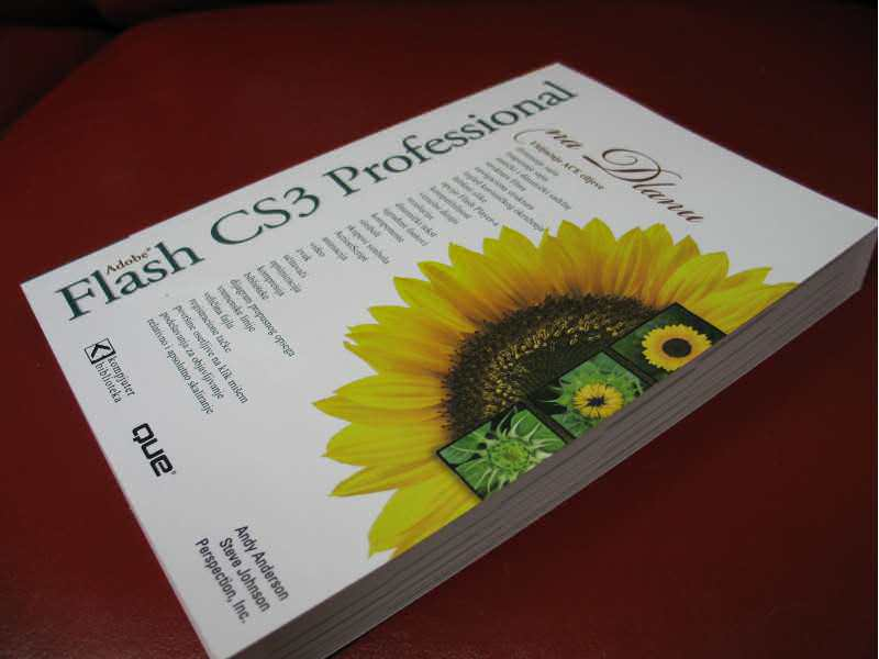 Flash CS3 Professional na dlanu