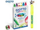 Flomasteri Fila Giotto Giant Fluo 1/6 kom No. 4330 00
