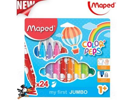 Flomasteri Maped my first jumbo  1/24kom 846222 - Novo