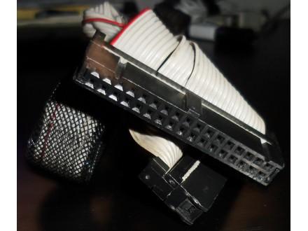 Flopy Drive kabl 2xkonektor u crevu