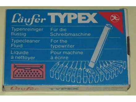 Fluid četkice za čišćenje pisaćih mašina