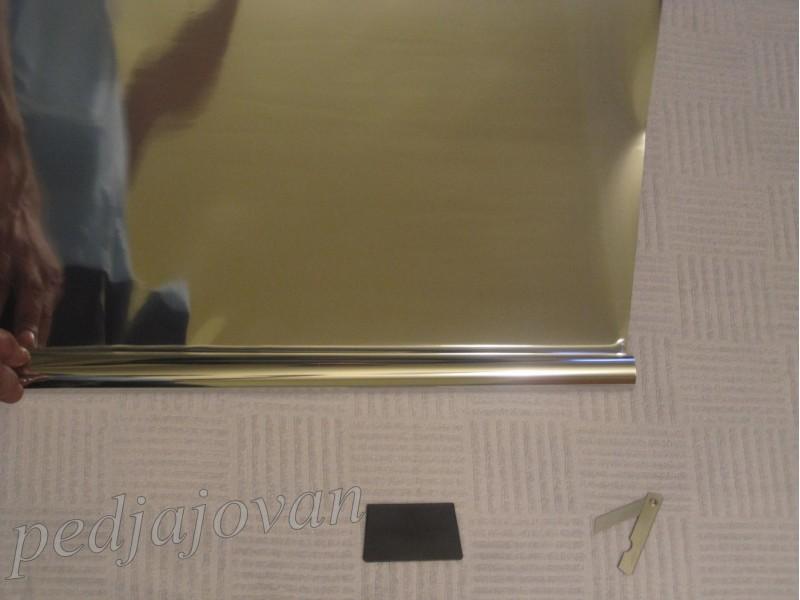 Folija za stakla ogledalo siva 50x300cm