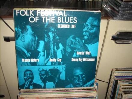 Folk Festival Of The Blues LP