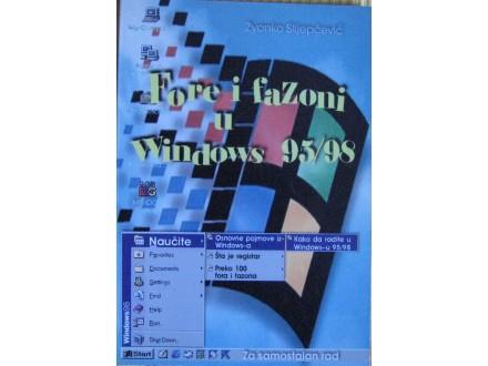 Fore i fazoni u Windows  95/98  Slijepčević