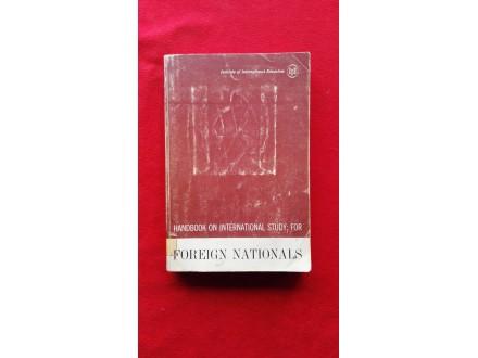 Foreign Nationals Handbook on international study