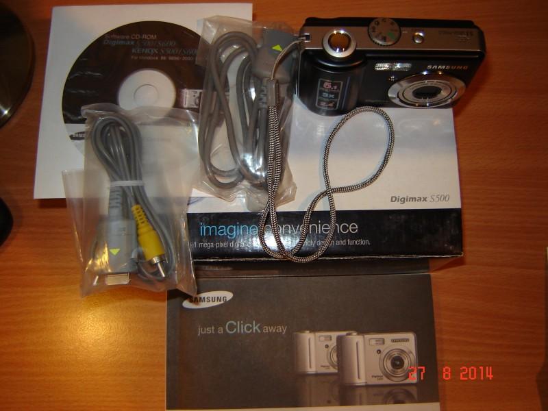 Fotoaparat Samsung Digimax S500