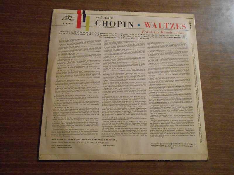 Frédéric Chopin, František Rauch - Waltzes