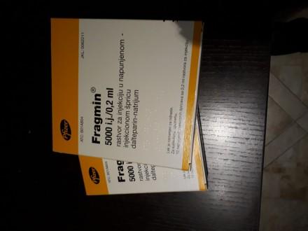 Fragmin injekcije 5000i.j/0.2ml 2 kutije od po 10 injek