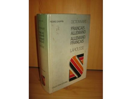 Francais-Allemand-Allemand-Francais dictionnaire