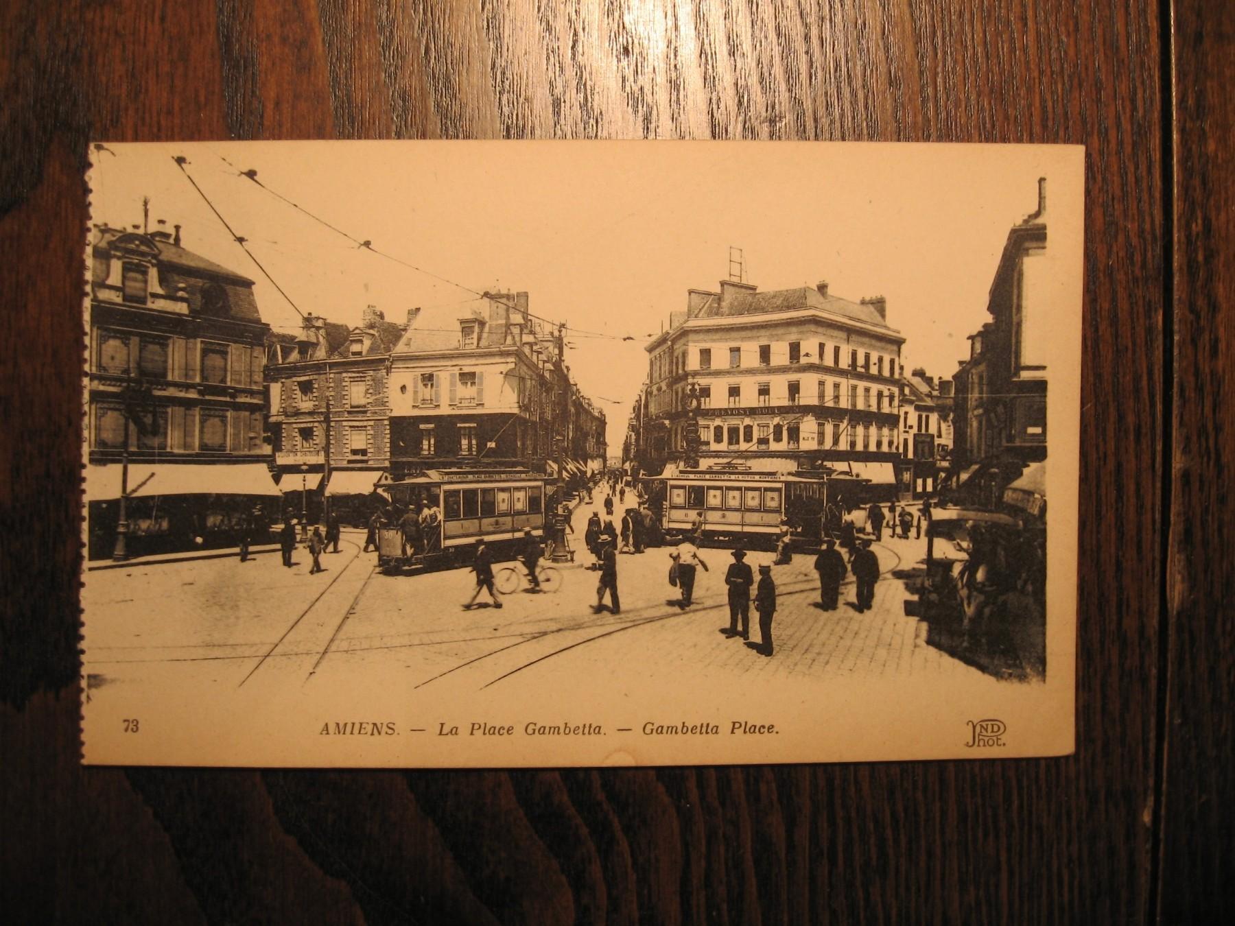 Francuska Amiens Stara Razglednica (P#678)