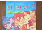 Francuski jezik za 5. razred - Klet + CD