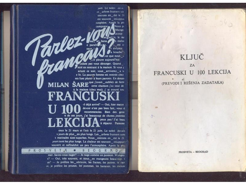 Francuski u 100 lekcija sa ključem M.Šare