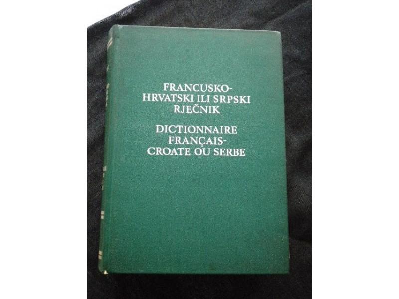 Francusko-Hrvatsko ili Srpski Rečnik - PUTANEC