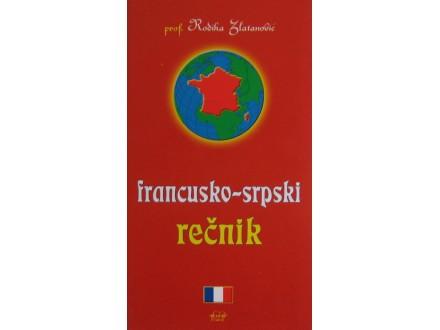 Francusko  srpski rečnik  prof. Rodika Zlatanović