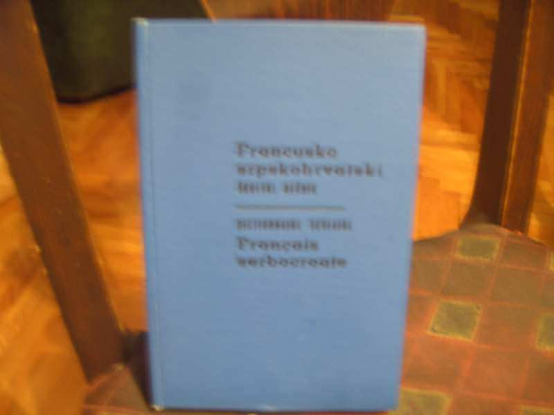 Francusko srpskohrvatski rečnik