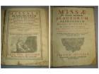 Franjevački misal na latinskom 1745