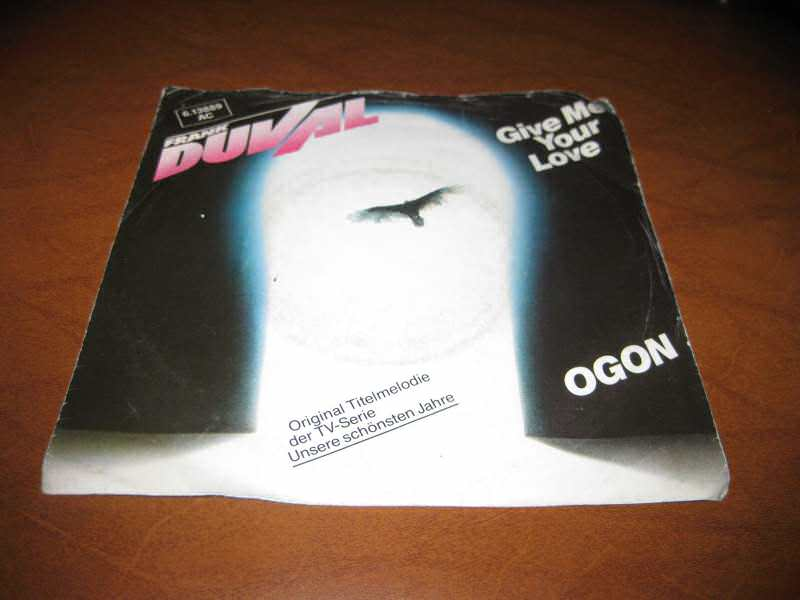 Frank Duval - Give Me Your Love / Ogon