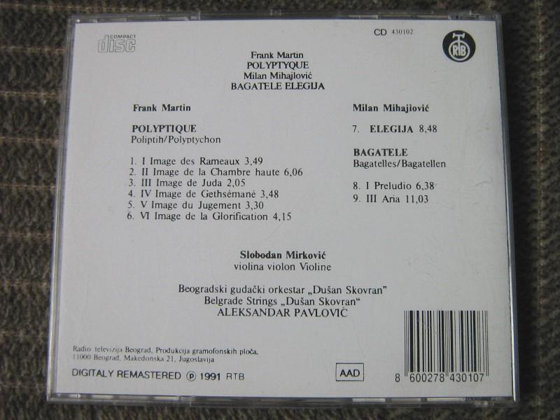 Frank Martin - Polyptique