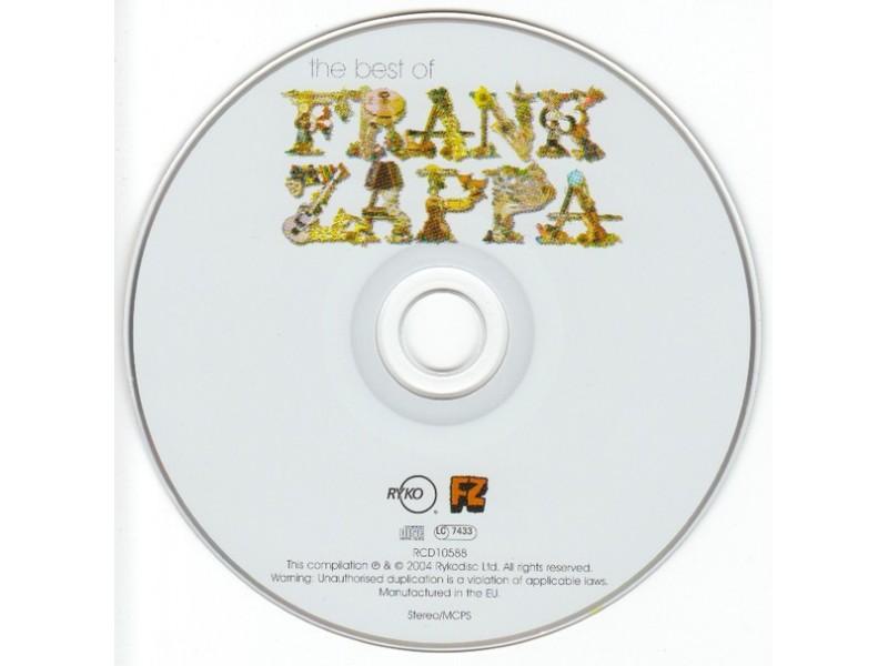 Frank Zappa – The Best Of Frank Zappa (CD)