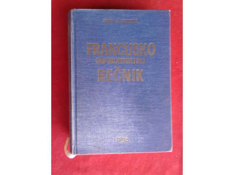 Fransusko  Srpskohrvatski   rečnik