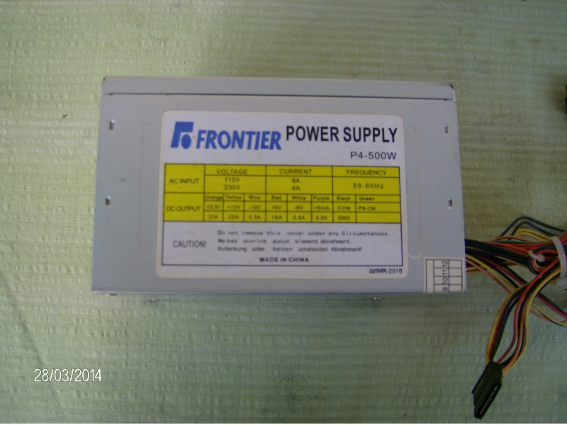 Frontier P-4 500 w...ATX...... ISPRAVNO-100 %......