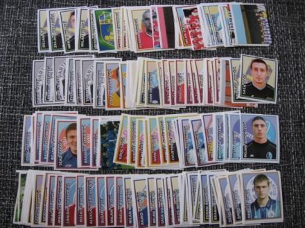 Fudbaleri 2002/03 - 176 razlicitih slicica
