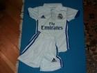 Fudbalski dresovi Real Madrida beli DECIJI