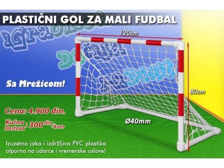 Fudbalski gol - Plastični - 120x80cm
