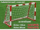 Fudbalski gol - crveno-beli 130x85cm