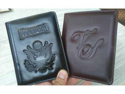 Futrole za pasoše i kreditne kartice,prirodna koža, 660