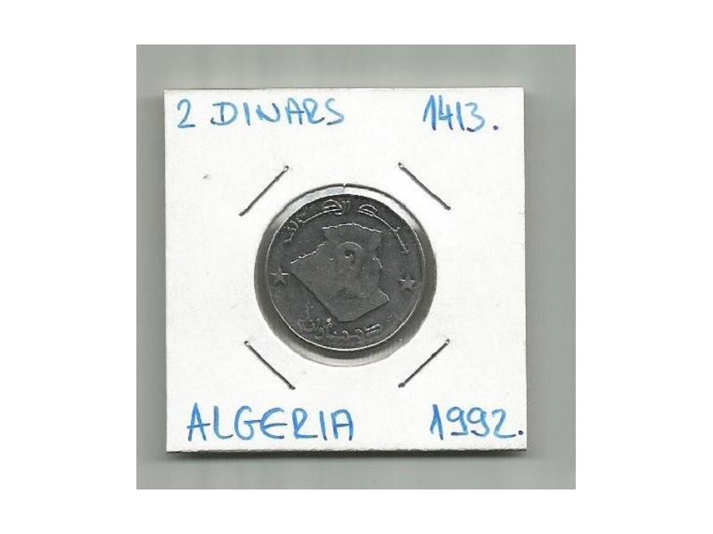 G4 Algerija 2 dinars 1992. (1413.)