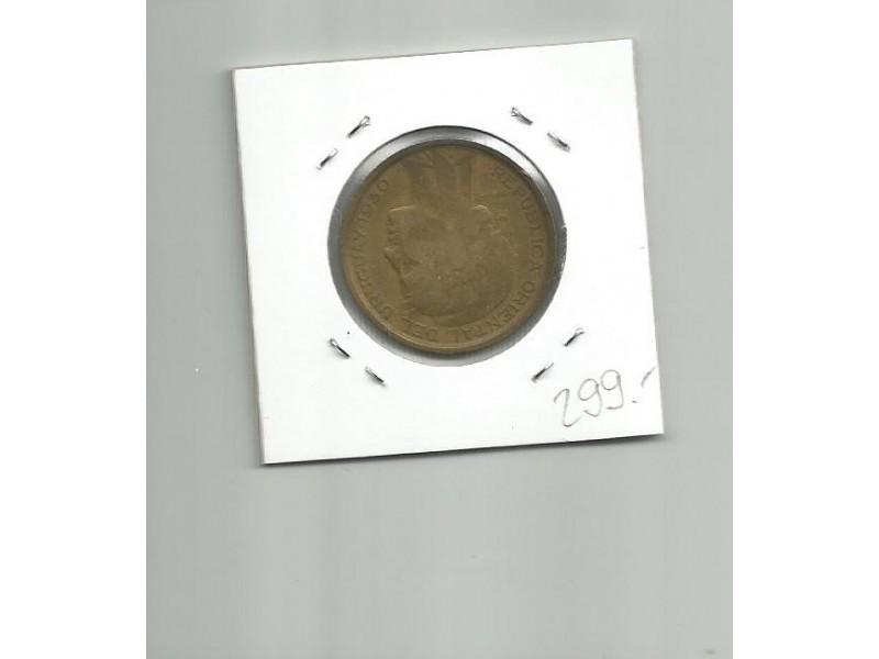 G6  Uruguay 10 centesimos 1930.