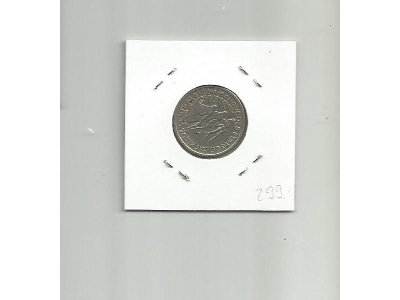 G7 Central African States 50 francs 1977.