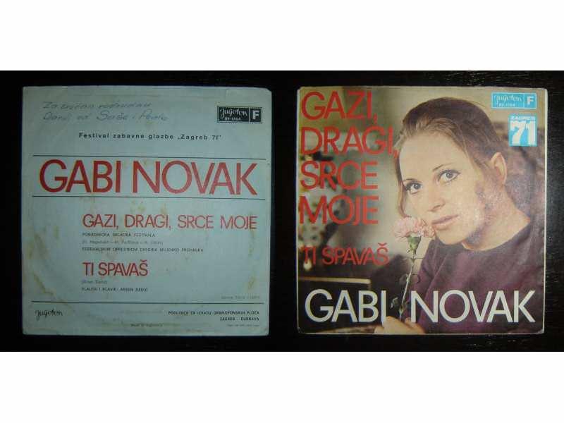GABI NOVAK - Gazi, Dragi, Srce Moje (singl)