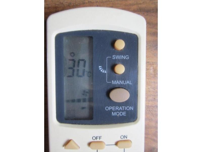GALANZ daljinski za klima uređaje